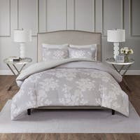 Madison Park Arlena 3 Piece Cotton Printed Comforter Set