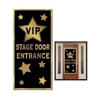 """Beistle VIP Stage Door Entrance Door Cover 30"""" x 5' - 12 Pack (1/Pkg)"""