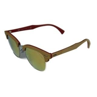 RayBan Clubmaster Sunglasses - Tan - Medium