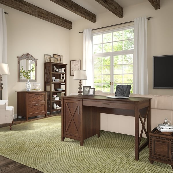 The Gray Barn Norland Park Computer Desk With Storage