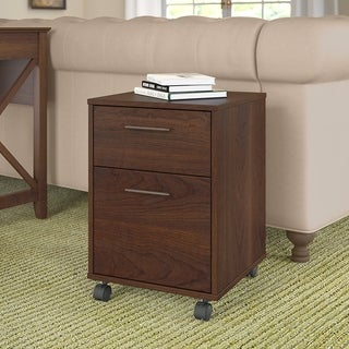 The Gray Barn Cross Hands 2-drawer Mobile File Cabin