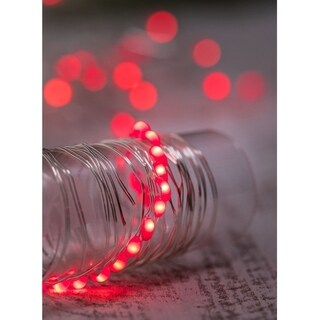Red Decorative LED Light Strand