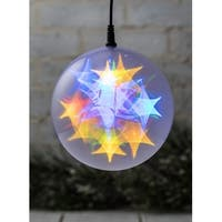 Large Multicolored LED Lighted Sphere