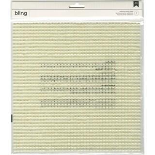 "American Crafts Bling Adhesive Pearls 10""X10"" Sheet"