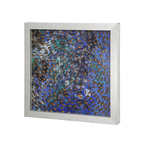 Harp & Finial Robben I Multicolored 2-inch D Frame Wall Art - Grey