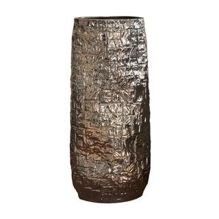 Harp & Finial Zaire Charcoal Large Ceramic Vase