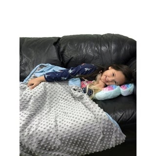CMFRT Kids Weighted Blanket with Duvet Cover - 5 lbs