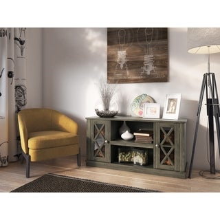 Bayport TV Stand for TVs up to 55 inches, Spanish Gray