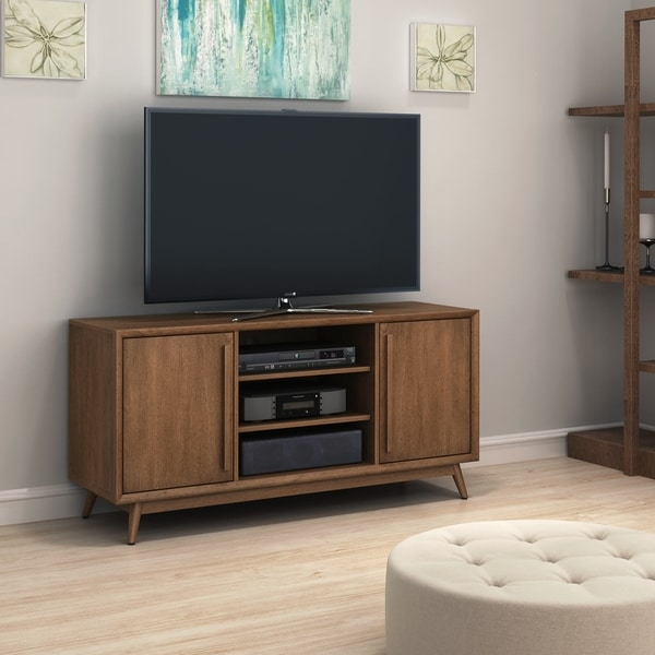 Shop Leawood Tv Stand For Tvs Up To 60 Inches Broadwalk Birch