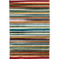 Central Terrace Tropic 084 Santee Multicolor/Snow Area Rug - multi