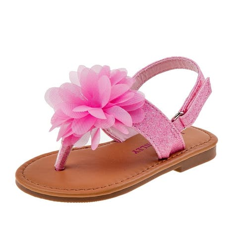 Laura Ashley Girl Toddler Thong Sandal