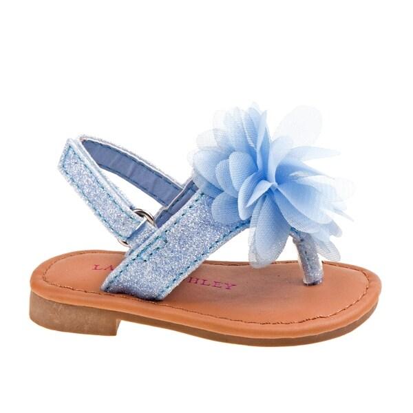 b327e2bf7b8d6 Shop Laura Ashley Girl Toddler Thong Sandal - Free Shipping On ...