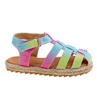 Laura Ashley Girls Espadrilles Sandals