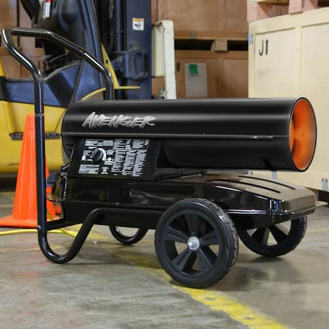 Avenger Portable Kerosene Multi-Fuel Heater - 125,000 BTU, Model# FBD125T