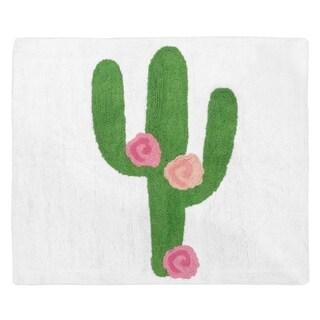 Sweet Jojo Designs Cactus Floral Collection Accent Floor Rug (2.5' x 3')