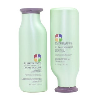 Pureology Clean Volume 8.5-ounce Shampoo & Conditioner Duo
