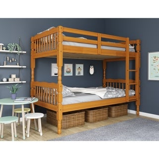 Arlington Solid Wood Twin Over Twin Bunk Bed by Palace Imports