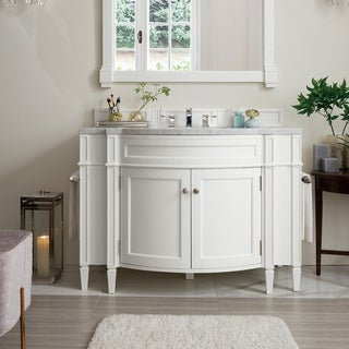"Brittany 46"" Single Vanity, Cottage White"