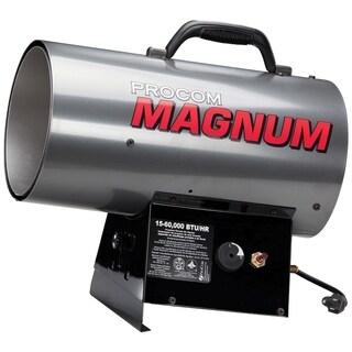 ProCom Recon Magnum Forced Air Propane Heater - 60,000 BTU, Model# R-PCFA60V