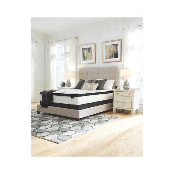 Shop Signature Design By Ashley Chime 12 In Twin Hybrid Bed In A Box