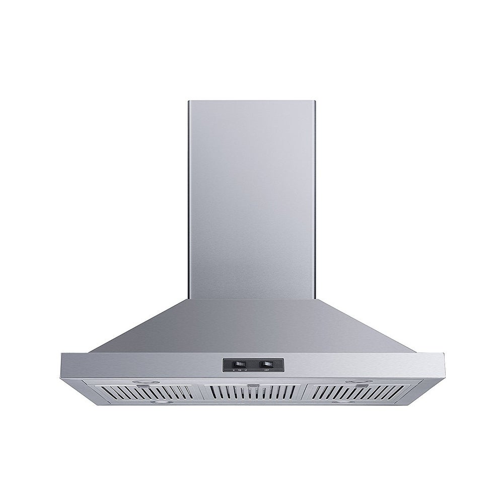 Shop For Winflo 36 400 Cfm Convertible Island Mount Stainless Steel Range Hood Get Free Delivery On Everything At Overstock Your Online Home Improvement Shop Get 5 In Rewards With Club O 21219468