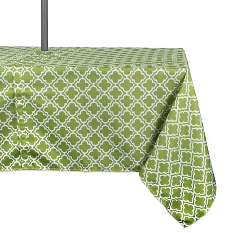 Design Imports Outdoor Tablecloth