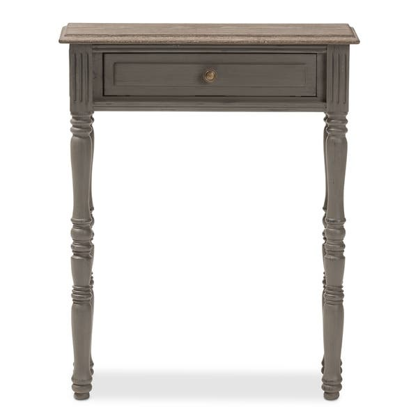 Cottage One Drawer Table # 181989