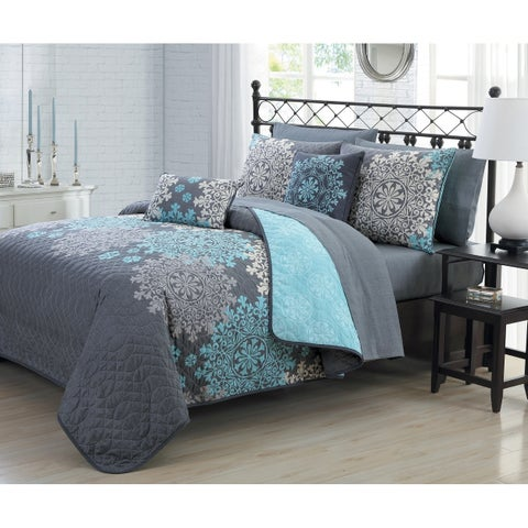 Avondale Manor Amber 9pc Quilt Set