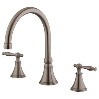 Bathroom Faucet LB7B, Brushed Nickel Finish (6-12 In Spread)