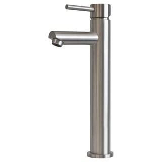 "Single Hole Modern Bathroom Vessel Faucet LB10B - 12"" high"