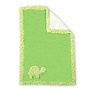 Ultra Soft Reversible Baby Blanket- Turtle