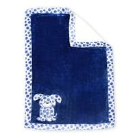 Ultra Soft Reversible Baby Blanket- Dog