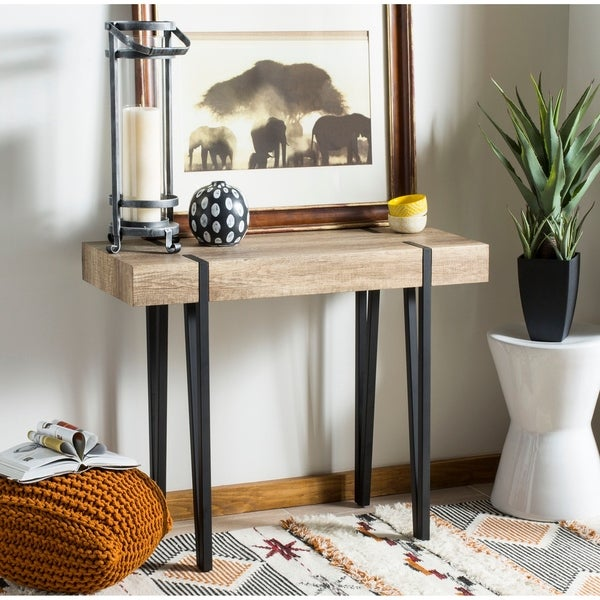 "Safavieh Alyssa Multi/ Brown Console Table - 39.4"" x 15.7"" x 31.4"""