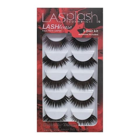 LA Splash LASHtease Wickedly Divine Eyelashes Kit