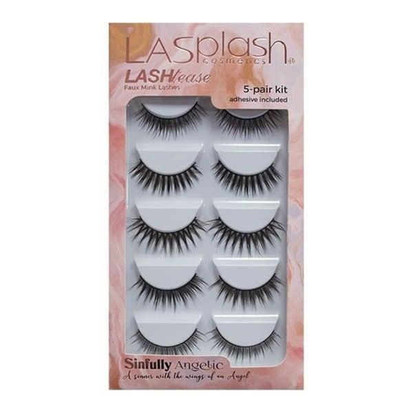 LA Splash LASHtease Sinefully Angelic Eyelashes Kit