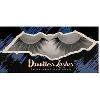 LA Splash Dauntless 3-D Synthetic Mink Single-Pair Eyelashes  - Dauntless