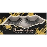 LA Splash Dauntless 3-D Synthetic Mink Single-Pair Eyelashes Snatched