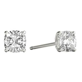 2df90900b Seraphina 18k Gold 0.80ct TDW Asscher Cut Diamond Solitaire Stud Earrings ·  Quick View