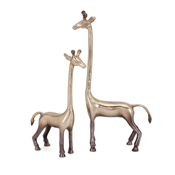 Diagle Cooper Aluminum Giraffes (Set of 2)