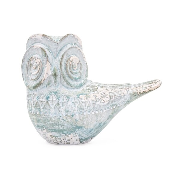Hootie Green and White Owl