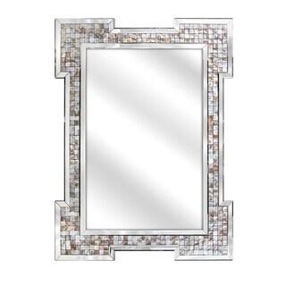 Victoria Multi-color Shell Wall Mirror