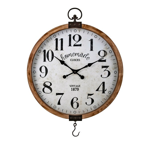 Johnson Brown Wall Clock