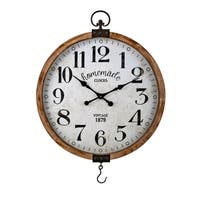Johnson Brown Wall Clock