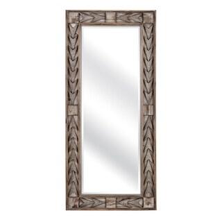 Lauer Brown Full-length Wall Mirror - Grey - A/N