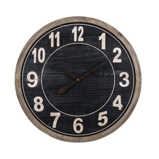 Tendo Brown and Black Wall Clock