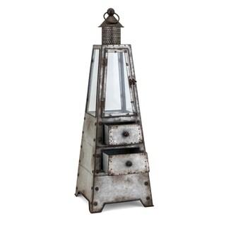 Hattie Grey Large Lantern