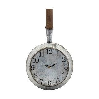Frye Grey Wall Clock