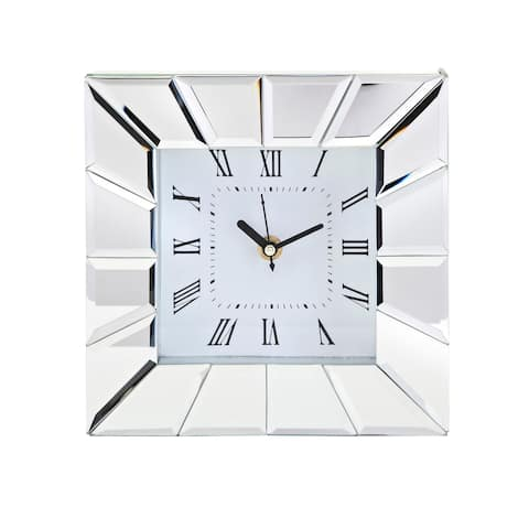 Stella Clear Desk Clock