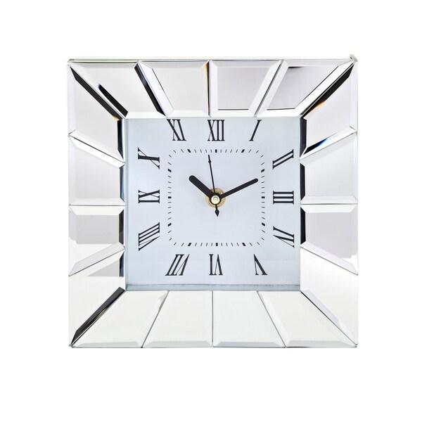 Stella Clear Desk Clock. Opens flyout.