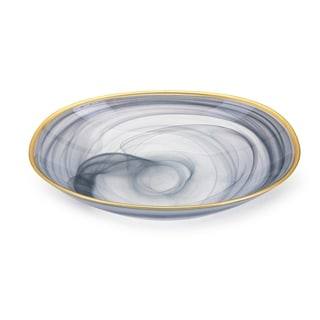 Link to Yazel Blue-grey Glass Bowl Similar Items in Decorative Accessories